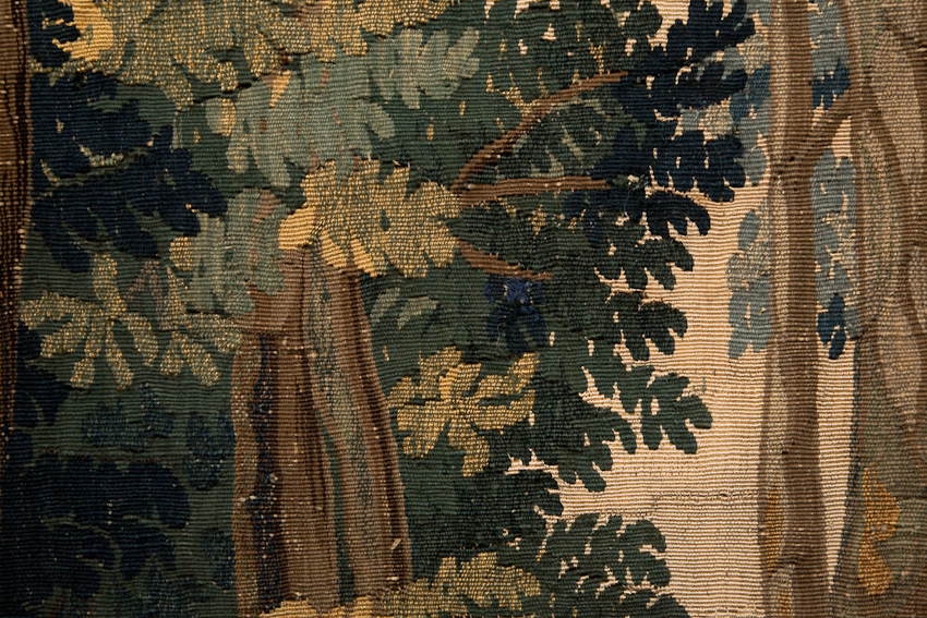 green foliage mortlake tapestry
